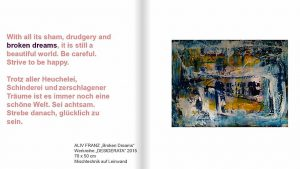 "Blick in den Ausstellungkatalog ""DESIDERATA"""