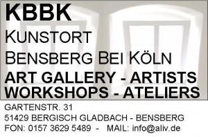 Logo KBBK - KUNSTORT BENSBERG