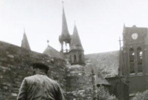 Johanniskirchplatz_Kirche_Altenessenerstr.456_um1955_Wiederaufbau (2)